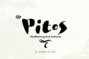 Pitos Font Family-sale 50%off