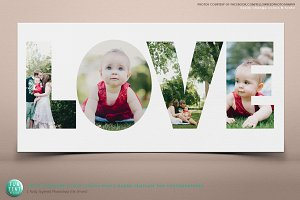 Valentines LOVE 10x20 Storyboard PSD