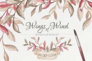Wings of Wind. Retro set