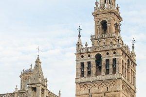 The Giralda in Seville, Spain.