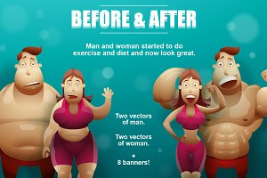 Man and Woman, Before&After