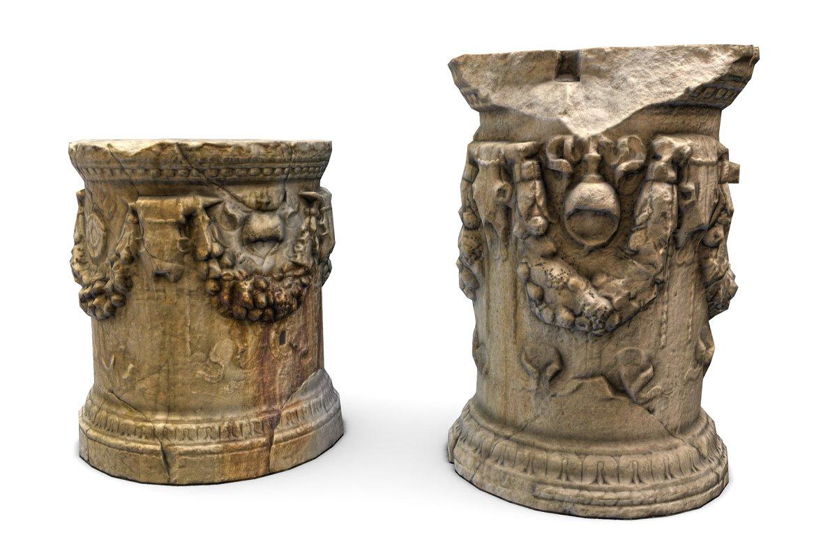 Roman Greek Column Base