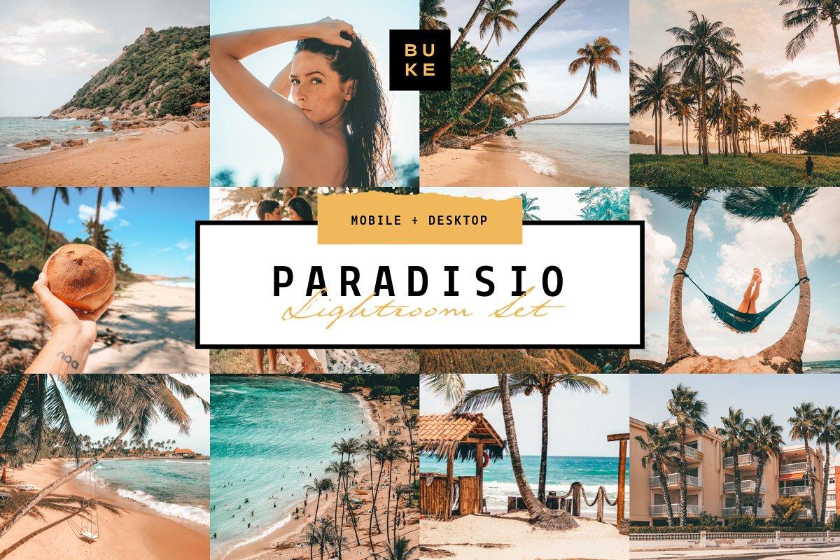 Paradisio 8 Lightroom Presets Bundle