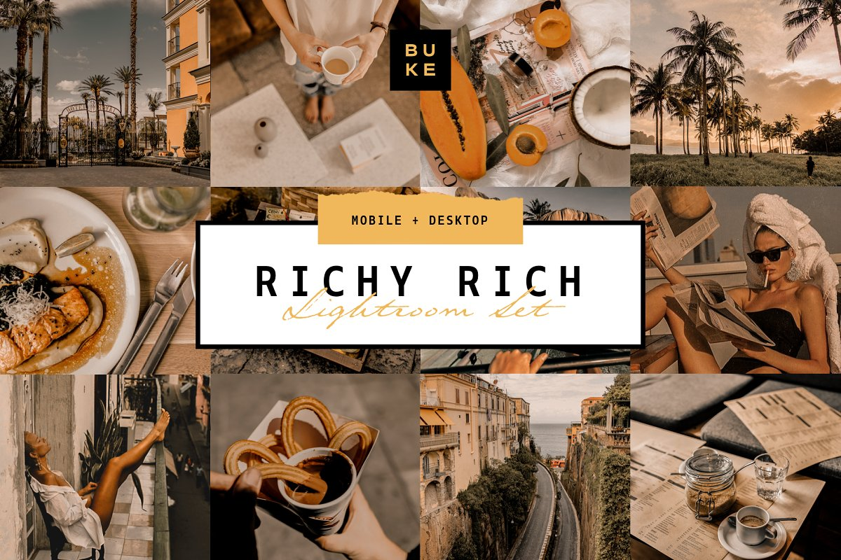 Rich Lightroom Preset
