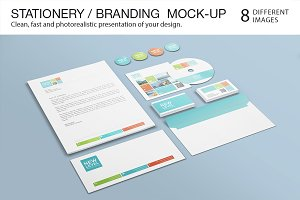 Stationery / Branding Mock-Up #2
