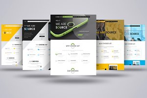 Multi-Purpose Business PSD Template