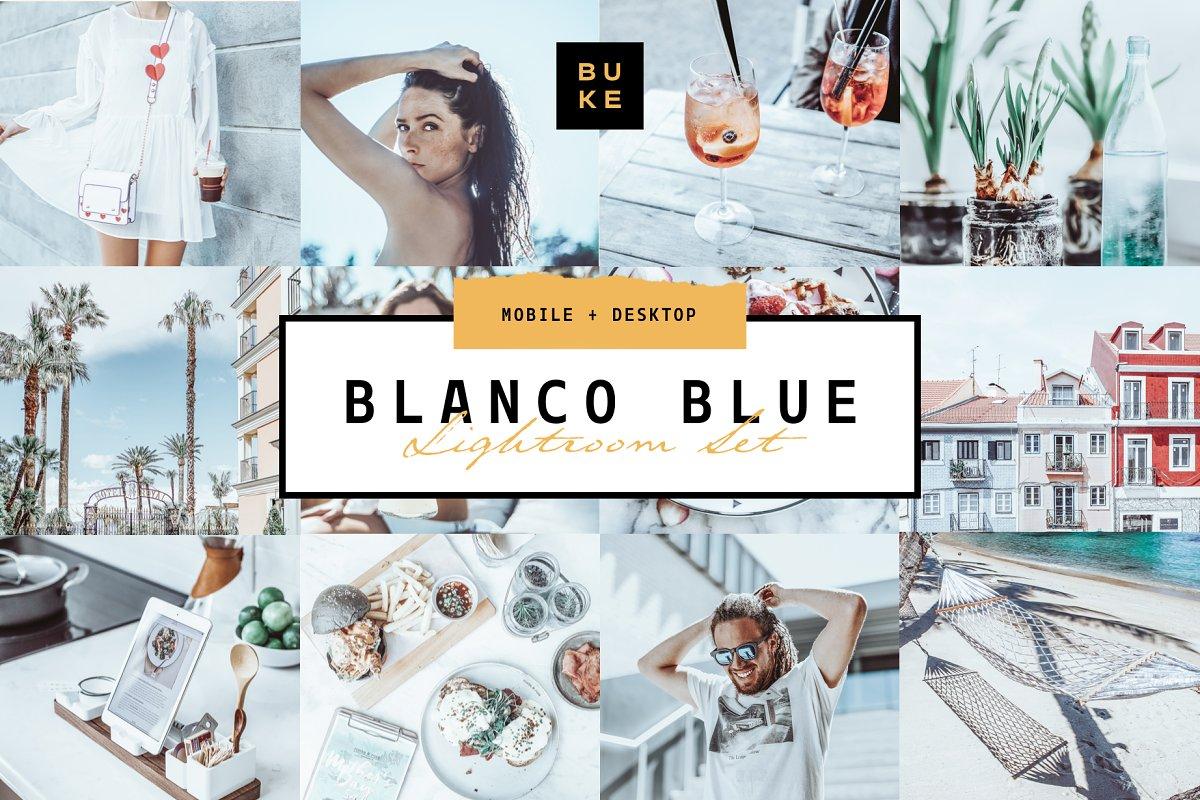 Blanco Blue Lightroom Preset