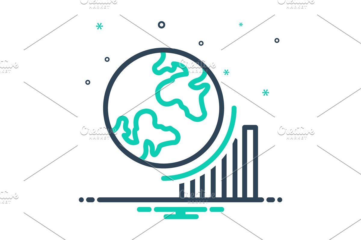 Globel progress icon