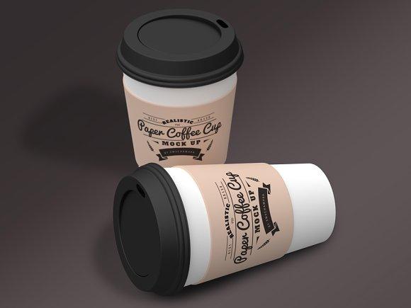 Paper Coffee Cup Mock-Ups