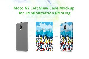 Moto G2 3d Case Design Mock-up