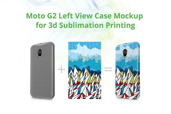 Moto G2 3d Case Design Mock-up