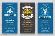 Oktoberfest flyers or banners