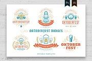 Oktoberfest vintage logos & badges
