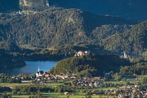 View of lake Bled