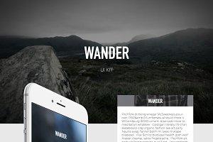 Wander UI Kit