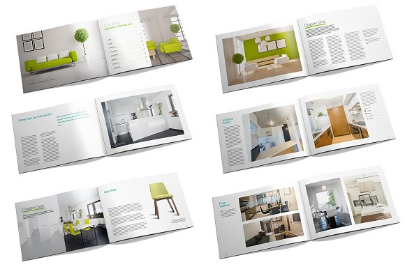 interior design brochure brochure templates creative market