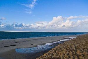 Large ocean beach