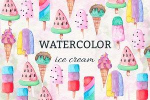 Watercolor Icecream