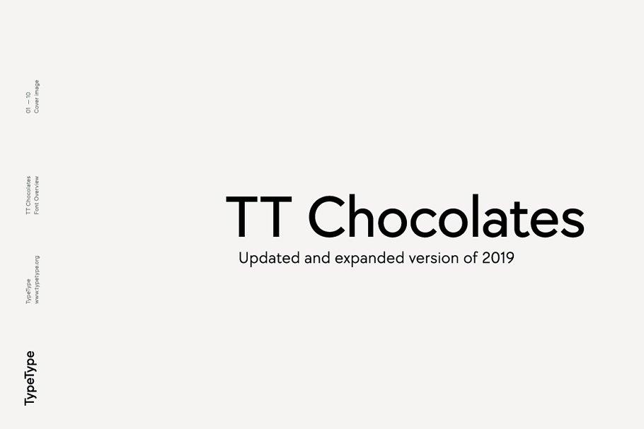 TT Chocolates -80% OFF ~ Sans Serif Fonts ~ Creative Market