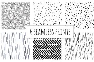 6 Seamless Paterns