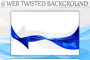 Web Twisted Background