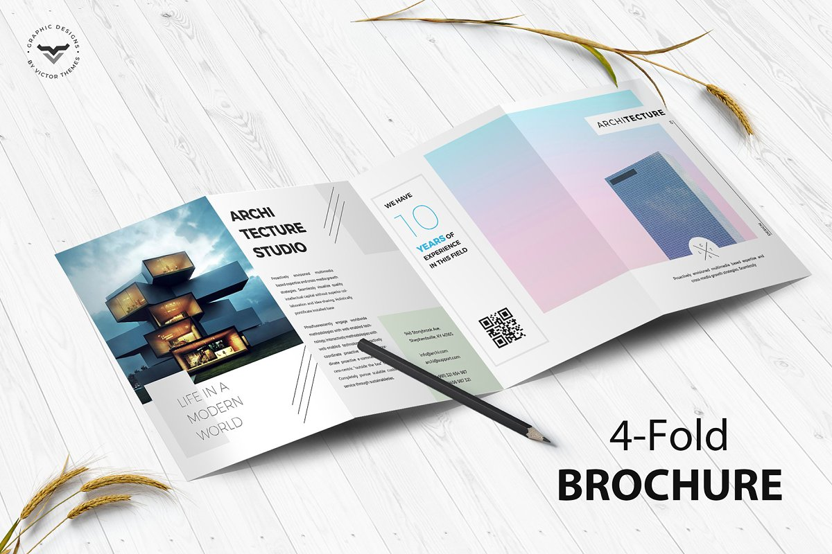 Sign In Architecture 4-Fold Brochure