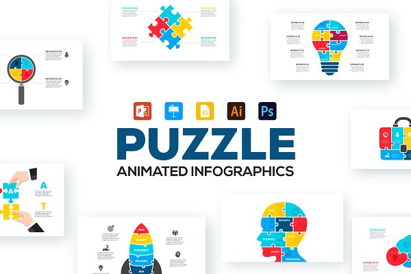 Jigsaw puzzle Photos, Graphics, Fonts, Themes, Templates