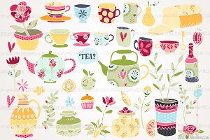 Tea Time Illustrations