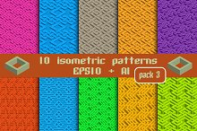 10 isometric patterns. Package 3
