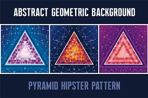 Pyramid Hipster Backgrounds