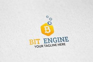 Bit Engine - Logo Template