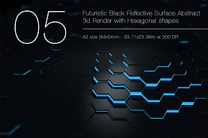 Futuristic Background Bundle 1