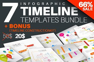 Infographic Timeline Bundle