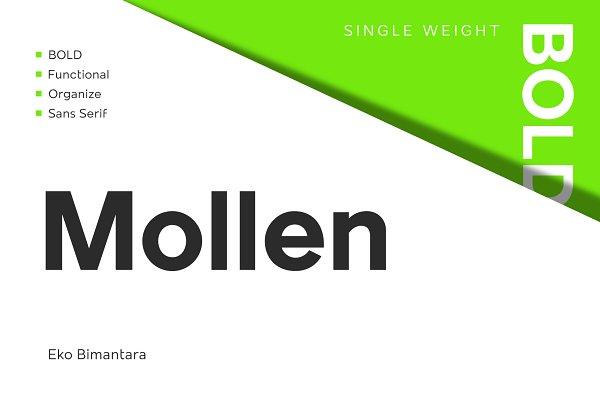 Mollen Bold