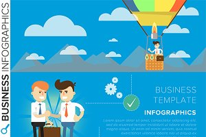 Business template infographic