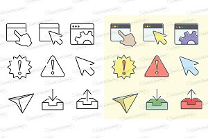 UX UI icons kit