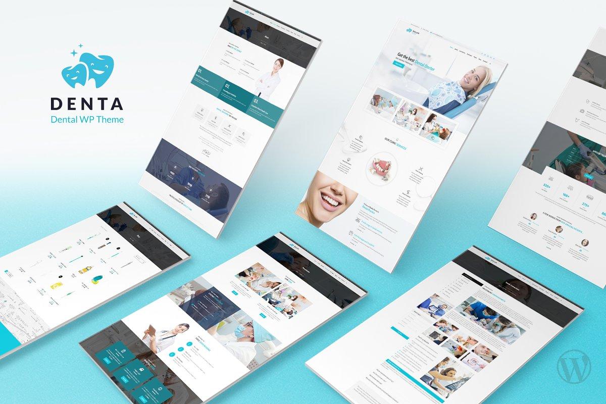 Denta - Dental WordPress Theme