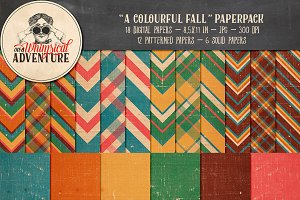 A Colourful Fall Paperpack