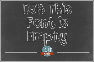 DJB This Font is Empty