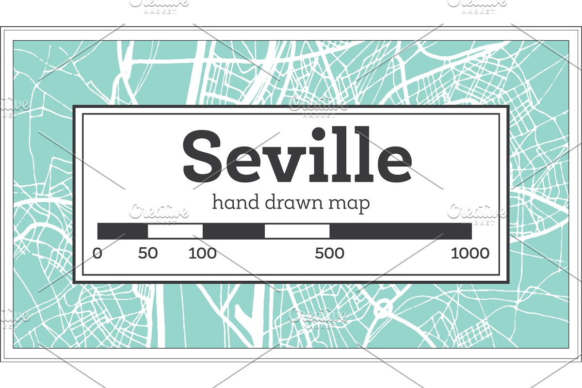 Seville Spain City Map in Retro ~ Illustrations ~ Creative ... on sao paulo brazil map, tallinn estonia map, amsterdam netherlands map, palma de mallorca tourist map, seville geography, seville streets, panama map, vitoria brazil map, world map, mexico city map, marseille france map, rio de janeiro brazil map, italy map, sixteenth century venice map, spanish city project map, ho chi minh city vietnam map, lima peru map, cairo egypt map, moscow russia map, faro portugal map,