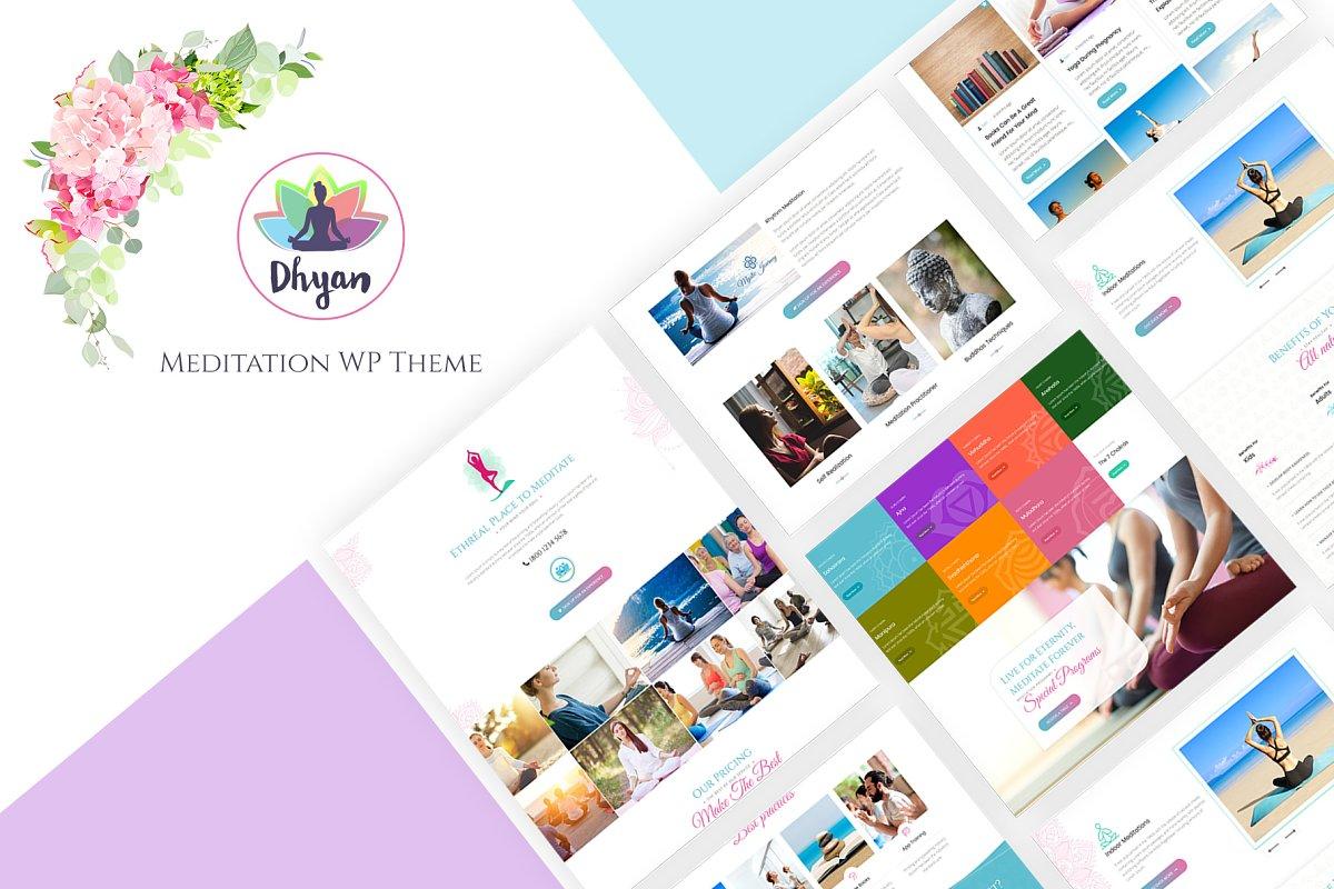 Dhyan - Meditation WordPress theme