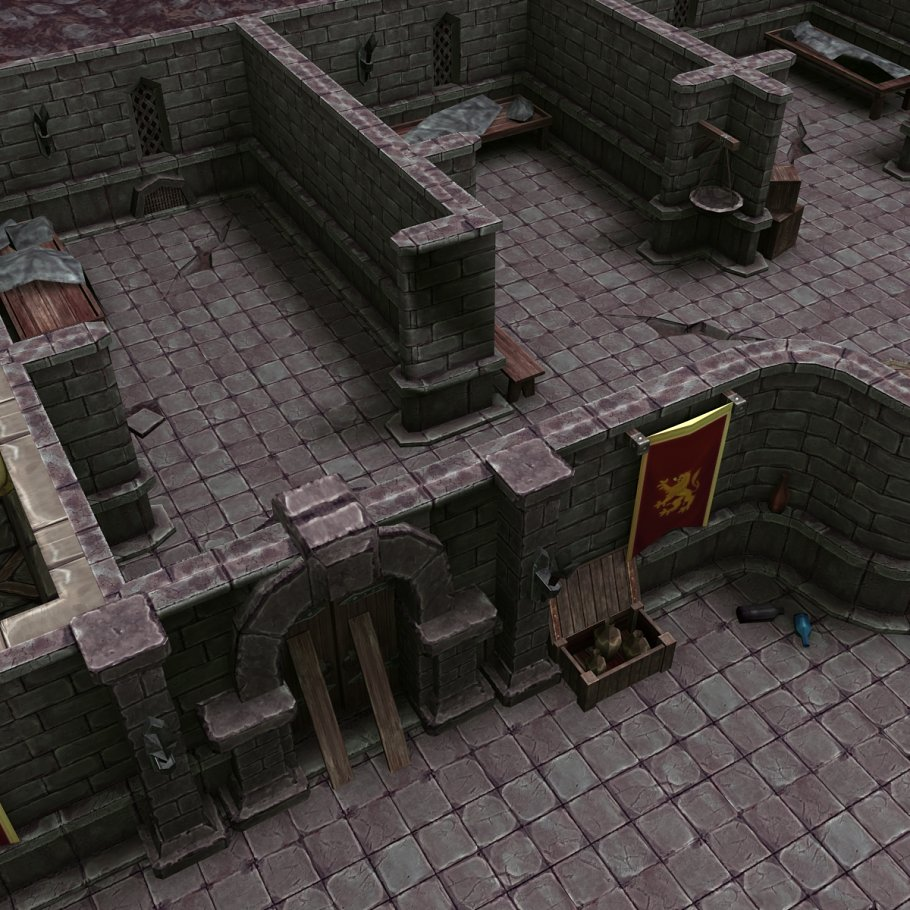 3DRT - Dungeon Master kit in Architecture - product preview 5