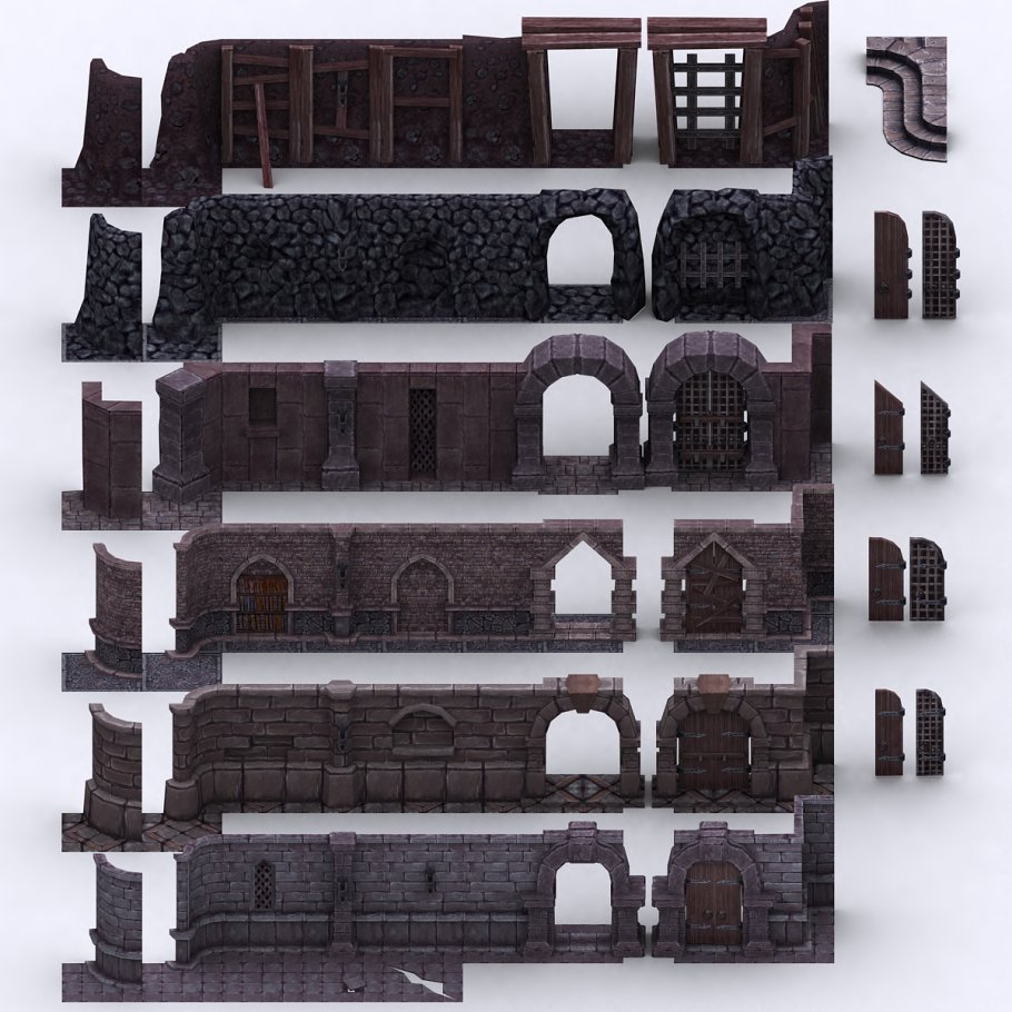 3DRT - Dungeon Master kit in Architecture - product preview 14