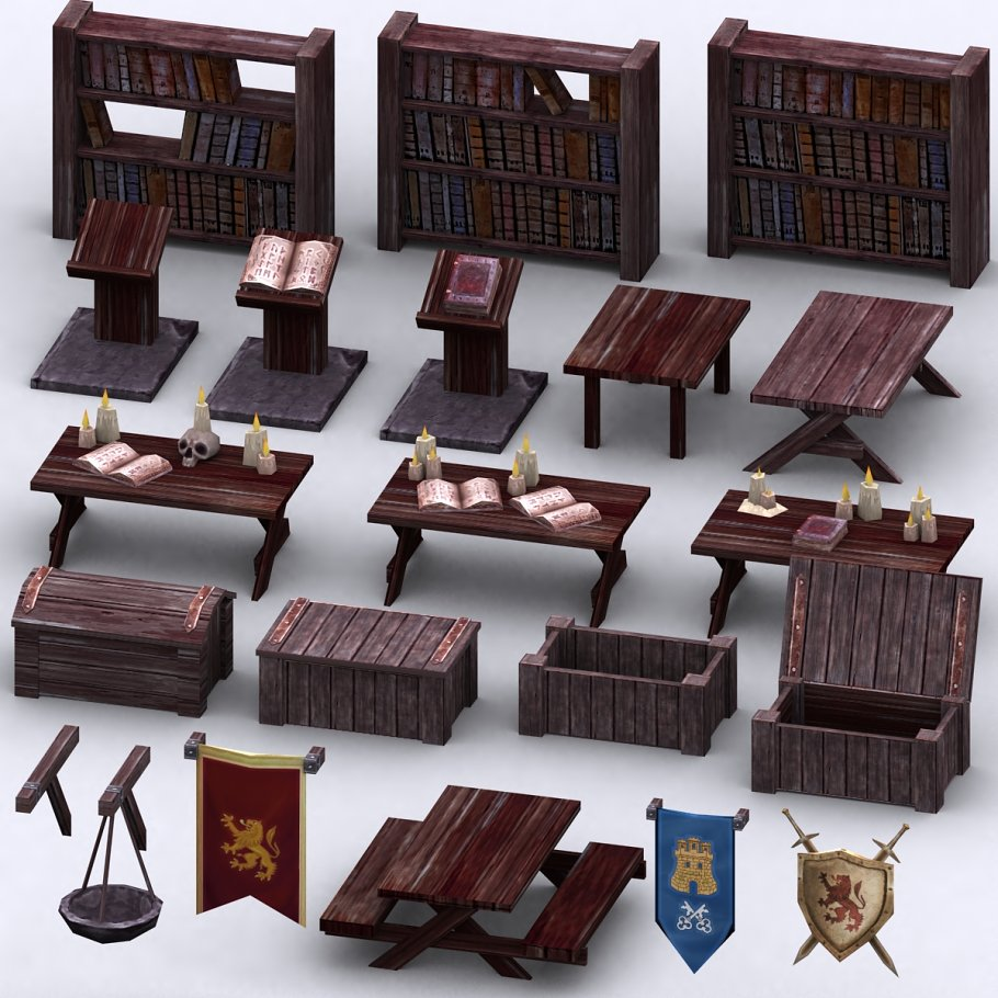 3DRT - Dungeon Master kit in Architecture - product preview 15