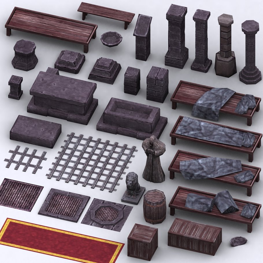 3DRT - Dungeon Master kit in Architecture - product preview 16