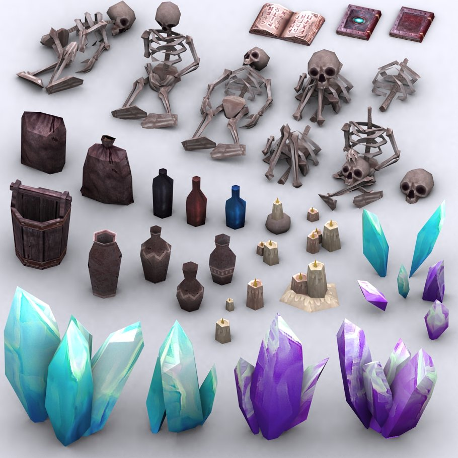 3DRT - Dungeon Master kit in Architecture - product preview 17