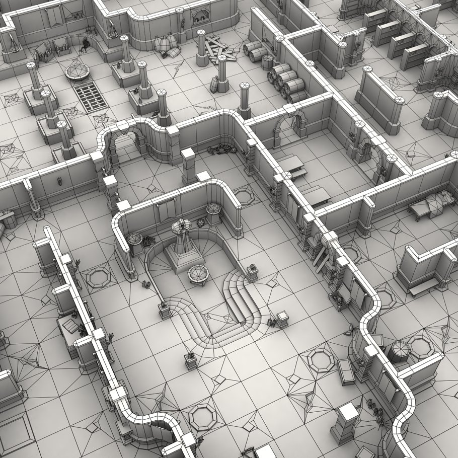3DRT - Dungeon Master kit in Architecture - product preview 21