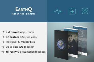 EarthQ Mobile App Template