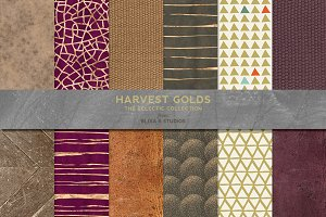 Harvest Golden Patterns & Textures