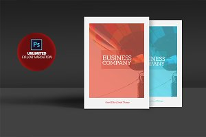 Bi-fold Business Brochure 12Pages